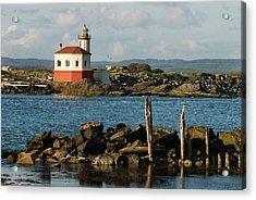 Coquille River Lighthouse Bandon Oregon Acrylic Print
