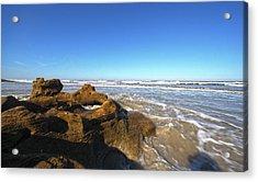 Coquina Beach Acrylic Print