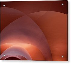 Coral Arched Ceiling Acrylic Print