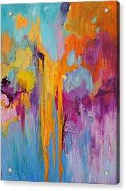 Coral Fanstasy Acrylic Print