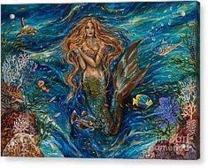 Coral Reef Rhapsody Toggled Acrylic Print