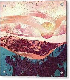 Coral Sky Acrylic Print