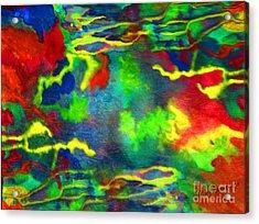 Coral Tides Acrylic Print
