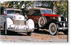 Cord Packard Acrylic Print by Paul  Trunk