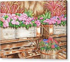 Cordelia's Train Acrylic Print