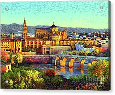 Cordoba Mosque Cathedral Mezquita Acrylic Print