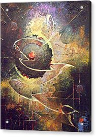 Core Acrylic Print by Fred Wellner