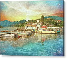 Corfu 30 My Passion Paintography Acrylic Print