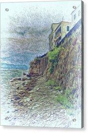 Corfu 33 - Corfu Rocks Acrylic Print