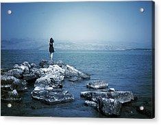 Corfu - Greece Acrylic Print by Cambion Art