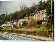 Cork Row Houses Acrylic Print