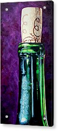 Corked Acrylic Print by Melanie Cossey