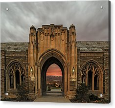 Cornell University Acrylic Print by Steven  Michael