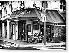Corner Cafe Acrylic Print by John Rizzuto
