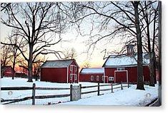 Corner Farm Acrylic Print