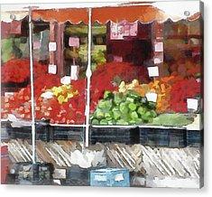 Corner Market Acrylic Print