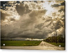 Corner Of A Storm Acrylic Print by James BO  Insogna