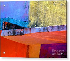 Corner Scroll 2 By Michael Fitzpatrick Acrylic Print by Mexicolors Art Photography