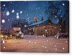 Corner Store Acrylic Print by Bryan Scott