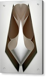Cornered Curves Acrylic Print