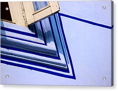 Acrylic Print featuring the photograph Cornering The Blues by Prakash Ghai