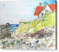 Cornfield Point Old Saybrook Acrylic Print
