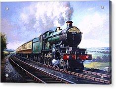 Cornish Riviera Express. Acrylic Print