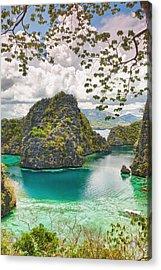 Coron Lagoon Acrylic Print