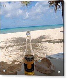 Corona Beach Day Acrylic Print