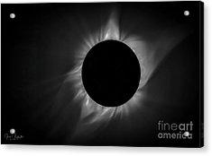 Corona During Total Solar Eclipse Acrylic Print