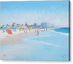 Coronado Beach San Diego Acrylic Print