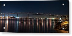 Coronado Bridge San Diego Acrylic Print by Gandz Photography