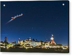 Coronado Christmas Acrylic Print