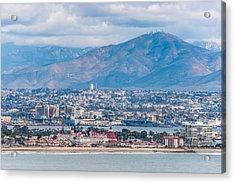 Coronado Coast - San Diego Photograph Acrylic Print by Duane Miller