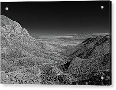 Coronado National Memorial In Infrared Acrylic Print