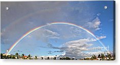 Coronado Rainbows Acrylic Print