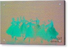 Corps De Ballet II Acrylic Print