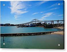 Acrylic Print featuring the photograph Corpus Christi Harbor Bridge by Mike Murdock