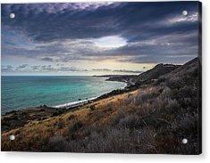 Corral Canyon Malibu Trail Acrylic Print