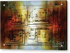 Corroded Cadence 2 Acrylic Print