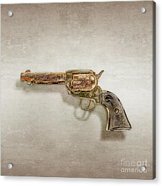 Corroded Peacemaker Acrylic Print by YoPedro