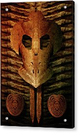 Corrosion Of Intent Acrylic Print by WB Johnston