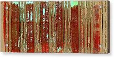 Corrugation Acrylic Print by Carol Leigh