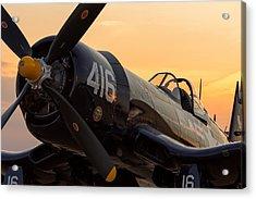 Corsair At Sunset Acrylic Print