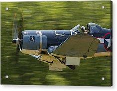 Corsair Close-up On Takeoff Acrylic Print