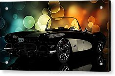 Corvette 1961 Acrylic Print