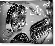 Corvette Bokeh Acrylic Print by Gordon Dean II