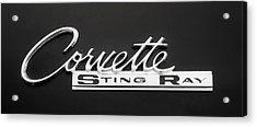 Corvette Sting Ray  Acrylic Print