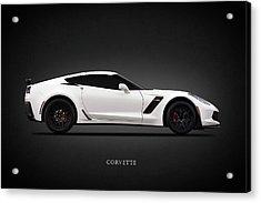 Corvette Z06 Acrylic Print by Mark Rogan