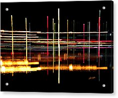 Acrylic Print featuring the photograph Cosmic Avenues by Bill Kesler